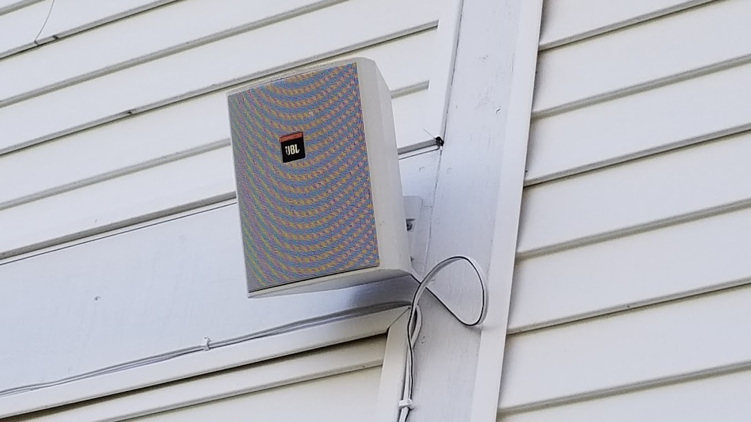 Go Play Outside- JBL Control 25 and OSD Audio Outdoor